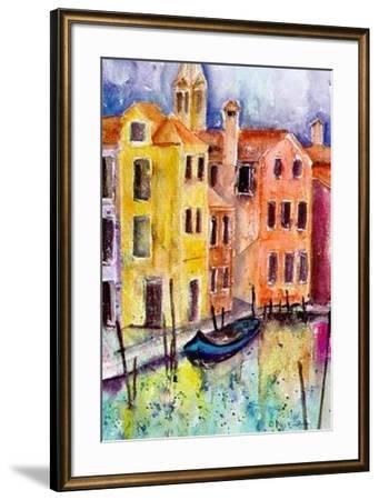 Venice II-Alie Kruse-Kolk-Framed Art Print