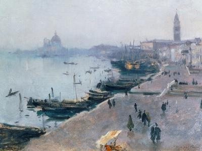 Venice in Grey Weather-John Singer Sargent-Giclee Print