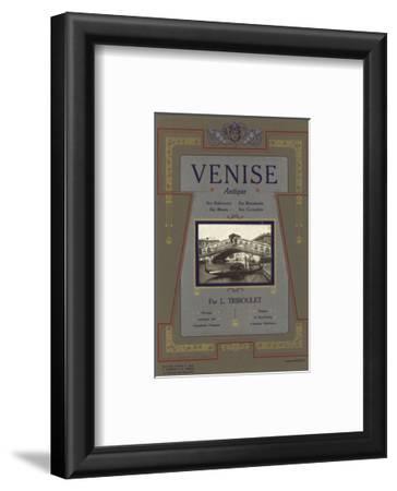 Venice Italy Advertisement