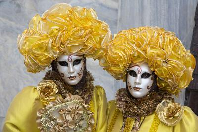Venice, Italy. Mask and Costumes at Carnival-Darrell Gulin-Photographic Print