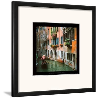 Venice - Italy-Stuart Black-Framed Art Print