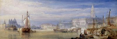 Venice Looking up the Grand Canal, 1866-William Callow-Giclee Print