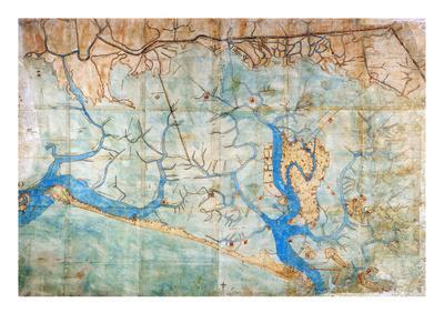 photograph about Printable Map of Venice identify Venice: Map, 1546 Giclee Print via Cristoforo Sabbadino
