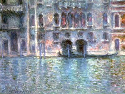 Venice, Palazzo Da Mula, 1908-Claude Monet-Giclee Print