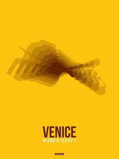 Venice Radiant Map 4-NaxArt-Art Print