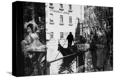 Venice Reflections-Sasa Krusnik-Stretched Canvas Print