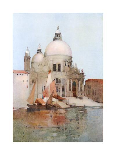 Venice, S Maria Salute-Arthur Melville-Giclee Print