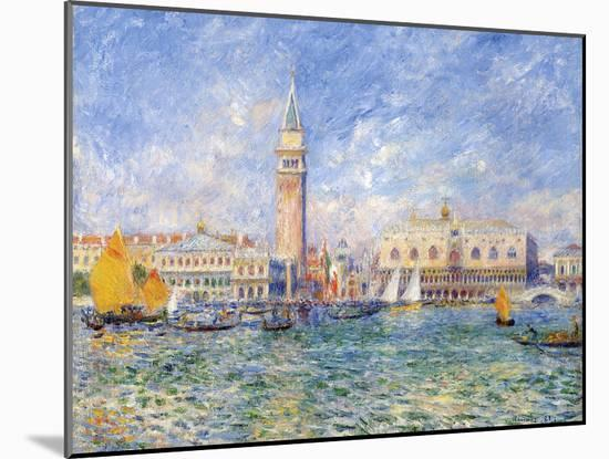 Venice, (The Doge's Palace), 1881-Pierre-Auguste Renoir-Mounted Giclee Print