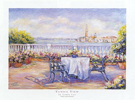 Venice View-Linda Lee-Art Print