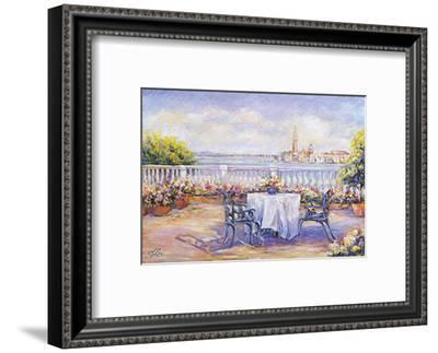 Venice View-Linda Lee-Framed Art Print