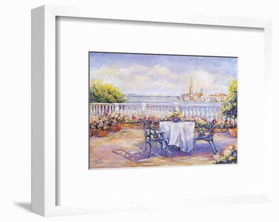 Venice View-Linda Lee-Framed Art Print