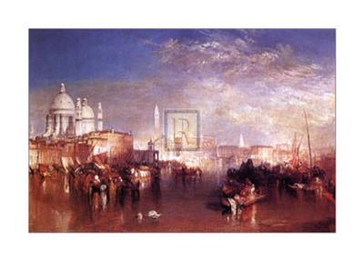 Venice-J^ M^ W^ Turner-Art Print