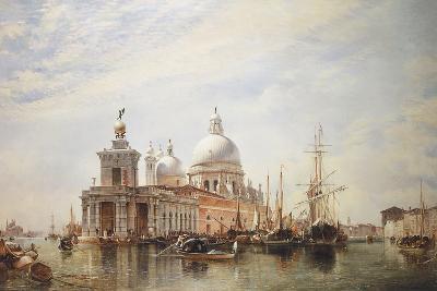 Venice-E.W. Cooke-Giclee Print