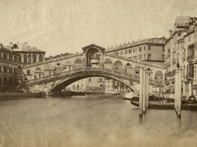 Venice-Giacomo Brogi-Photographic Print