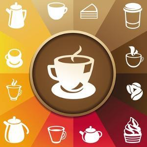Coffee And Tea Icons by venimo