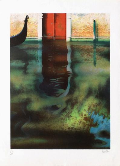 Venise, la porte rouge-Daniel Sciora-Limited Edition