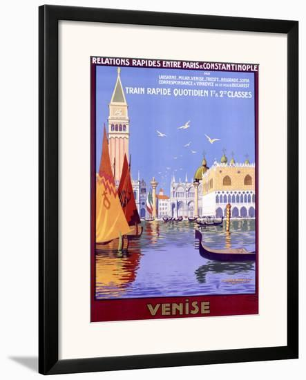 Venise-Georges Dorival-Framed Giclee Print