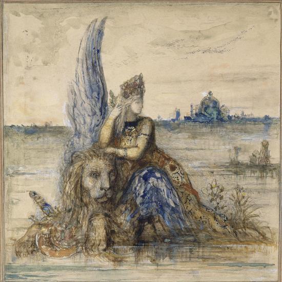 Venise-Gustave Moreau-Giclee Print