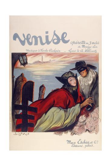 Venise-Marcus Jules-Giclee Print