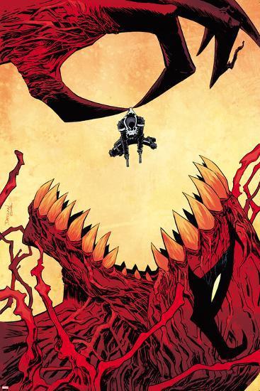 Venom #33 Cover: Venom, Toxin-Declan Shalvey-Wall Decal