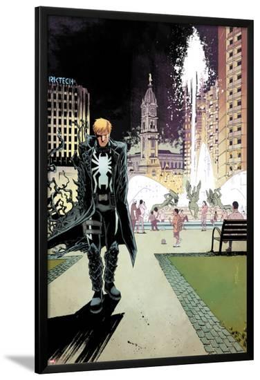 Venom #36 Cover: Venom, Thompson, Flash-Declan Shalvey-Lamina Framed Poster