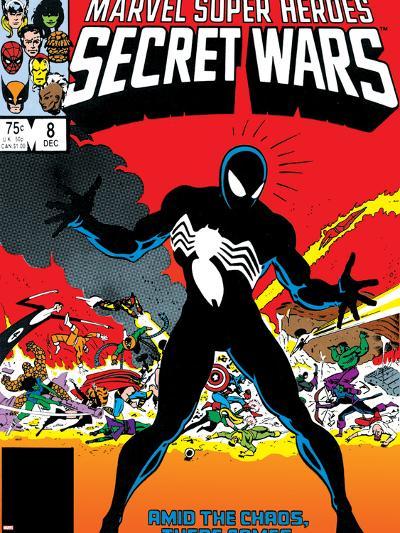 Venom & Hercules Cover: Spider-Man-Mike Zeck-Art Print
