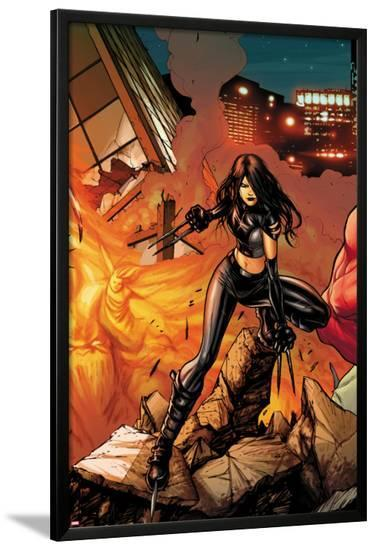 Venom No.13.2 Cover: X-23-Stefano Caselli-Lamina Framed Poster