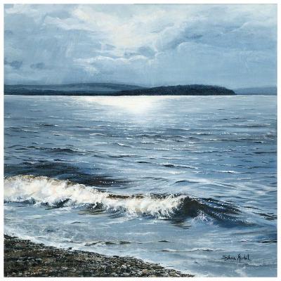 Vent chaud d'ouest sur le lac-Sylvia Audet-Art Print