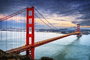 Golden Gate Bridge, San Francisco by vent du sud