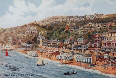 Ventnor from the Pier, Isle of Wight-Alfred Robert Quinton-Giclee Print