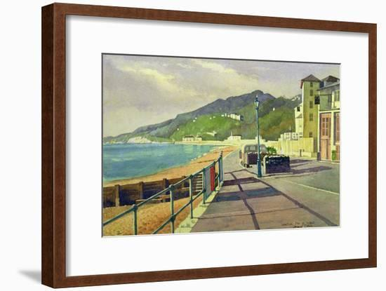 Ventnor, Isle of Wight-Osmund Caine-Framed Giclee Print