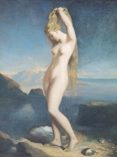Venus Anadyomene, or Venus of the Sea, 1838-Theodore Chasseriau-Premium Giclee Print