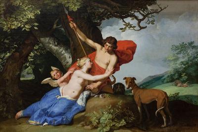 Venus and Adonis, 1632-Abraham Bloemaert-Giclee Print