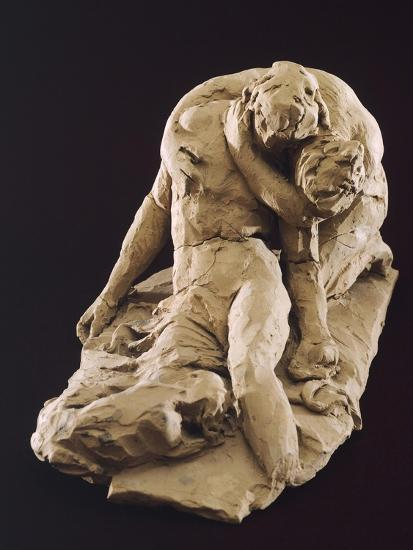 Venus and Adonis-Antonio Canova-Giclee Print