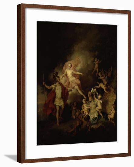 Venus and Aeneas-Christian W.e. Dietrich-Framed Giclee Print