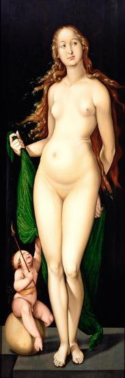 Venus and Amor-Hans Baldung-Giclee Print