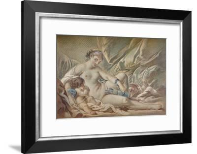 Venus and Cupid, 18th century, (1919)-Louis Marin Bonnet-Framed Giclee Print