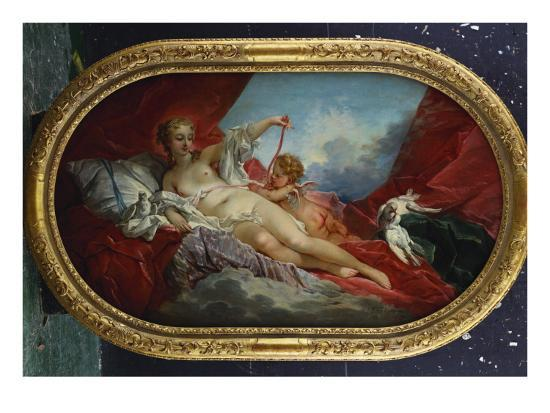 Venus and Cupid-Francois Boucher-Giclee Print