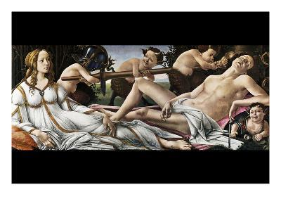 Venus and Mars-Sandro Botticelli-Art Print