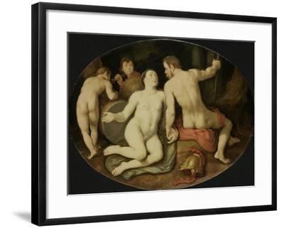 Venus and Mars-Cornelis Cornelisz Van Haarlem-Framed Art Print