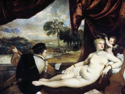 Venus and the Lute Player, C1565-1570-Titian (Tiziano Vecelli)-Giclee Print