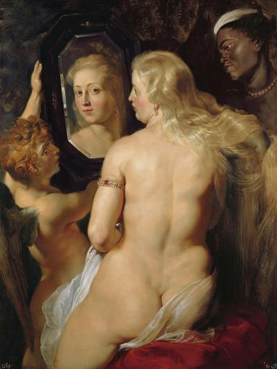 Venus at a Mirror-Peter Paul Rubens-Giclee Print