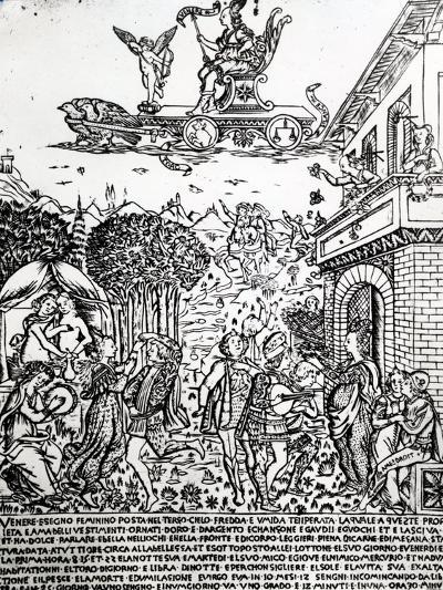 Venus, C.1464-Baccio Baldini-Giclee Print