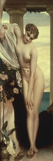Venus Disrobing for the Bath-Frederick Leighton-Giclee Print