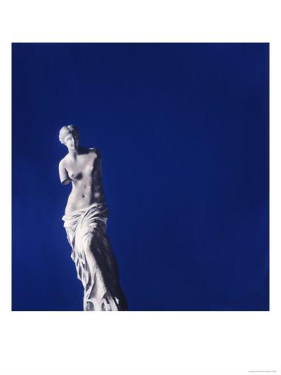 Venus en Bleu-Gregory Garrett-Premium Giclee Print