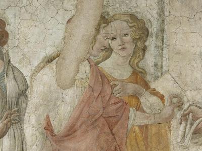 Vénus et les Grâces offrant des présents à une jeune fille-Sandro Botticelli-Giclee Print