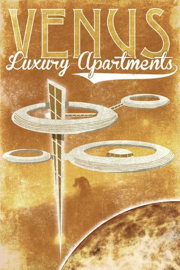 Venus Luxury Apartments-Lynx Art Collection-Art Print