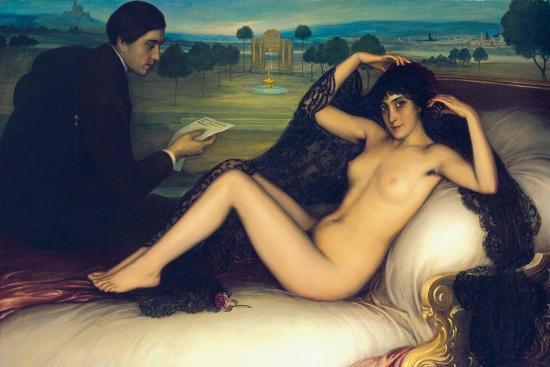 Venus of Poetry, 1913-Julio Romero de Torres-Giclee Print