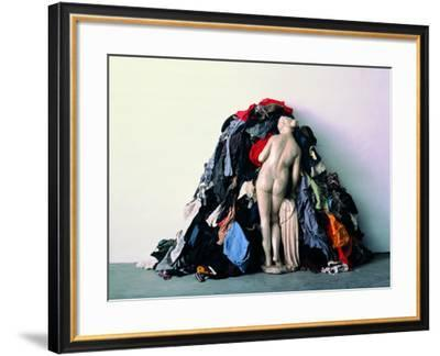 Venus of the Rags--Framed Photographic Print