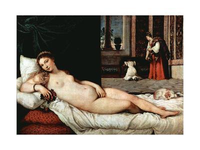 Venus of Urbino, 1538-Titian (Tiziano Vecelli)-Giclee Print
